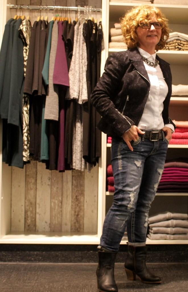 weiße cambio jeans